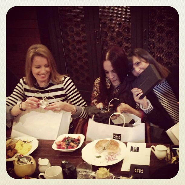 Breakfast with Polyvore members