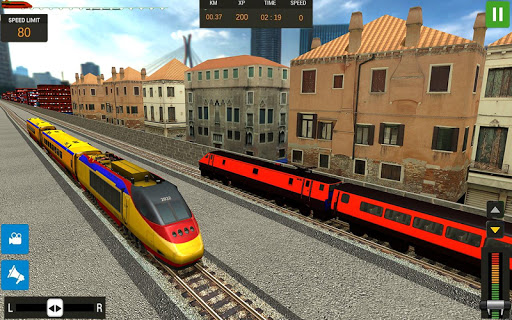 Modern Train Driving Simulator: City Train Games 2.1 screenshots 4