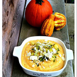 PUMPKIN SPICE POLENTA SIDE DISH Recipe