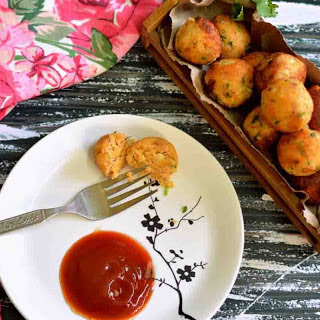 Paneer Bread Balls Recipe (Cottage Cheese & Bread Croquettes)
