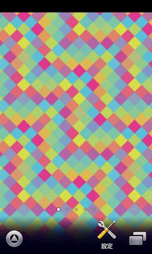 色がかわいいパターン壁紙【スマホ待受壁紙】