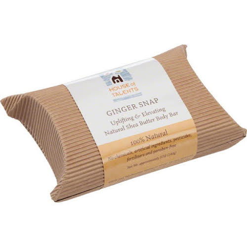 House of Talents Ginger Snap Soap: 5oz Bar