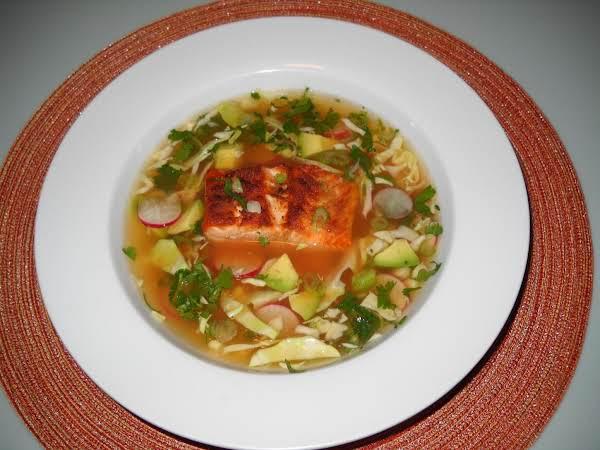 Salmon Pozole
