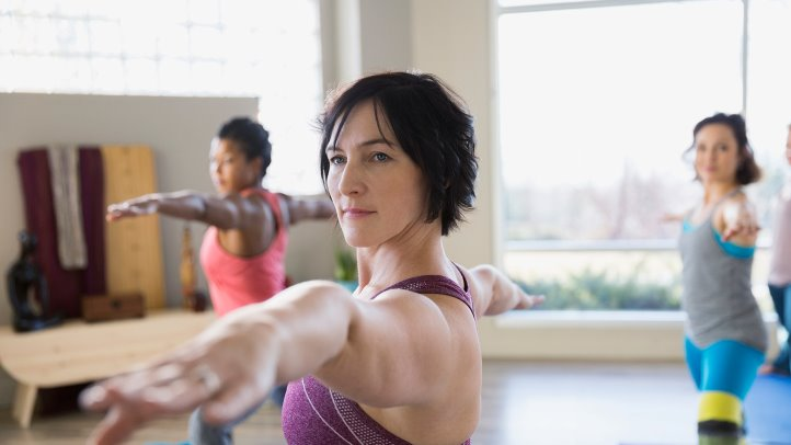 Hold That Pose: Yoga May Ease Tough Depression