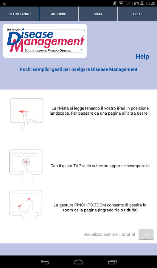 Disease Management SIMG- screenshot