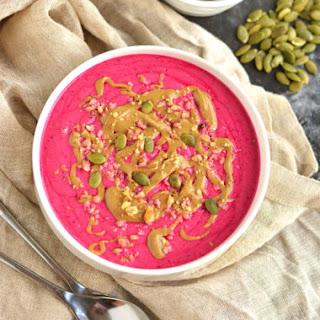Pumpkin Pitaya Smoothie Bowl Recipe