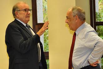 Photo: Prof. dr. Ludger Honnefelder und Prof. Dr. Antoon Vos