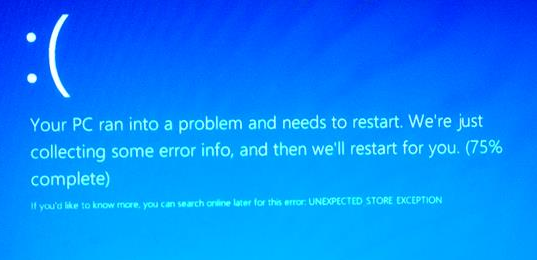 "[Solved] How to Fix Windows 10 BSoD ""UNEXPECTED_STORE_EXCEPTION"" Error"