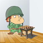 Checkers War: Chapayev Game Icon
