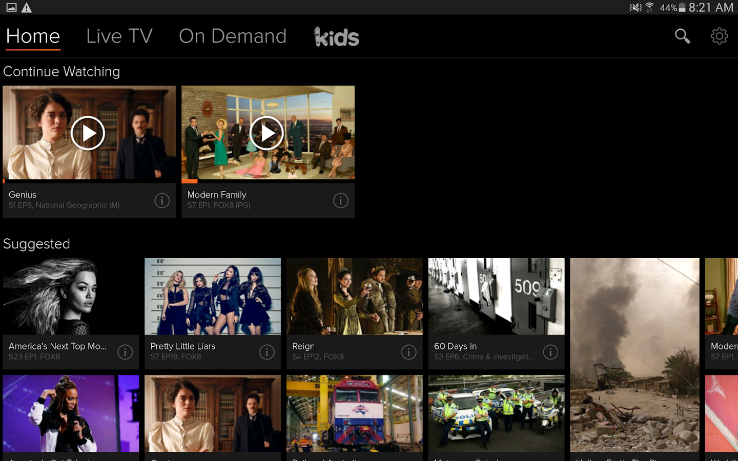 how to watch foxtel go