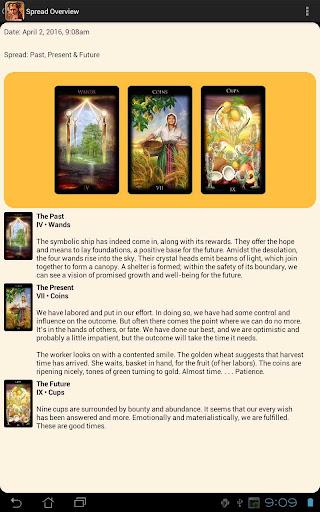 Legacy of the Divine Tarot screenshot 3