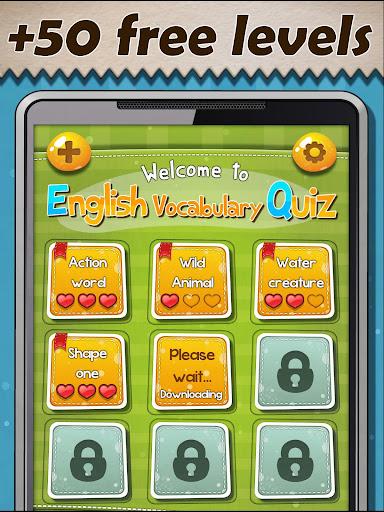 Free english vocabulary quiz