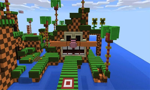 Map Sonic Life for MCPE 2.0 {cheat|hack|gameplay|apk mod|resources generator} 3