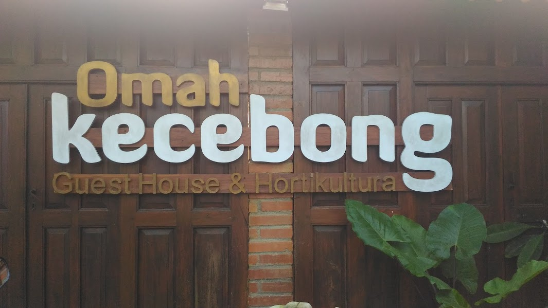 omah kecebong sign
