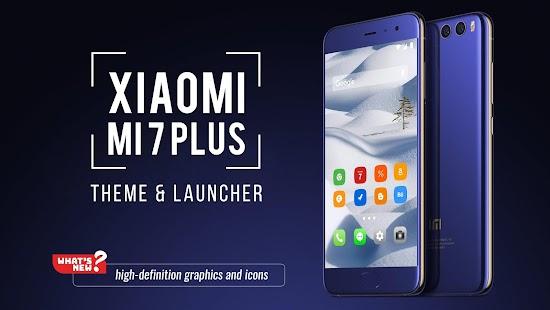 Theme for Xiaomi Mi 7 Plus - náhled