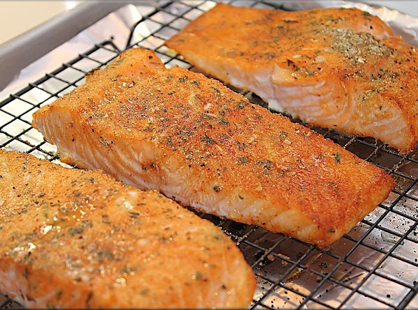 Bake salmon for about 15 – 20 minutes or until cooked through.