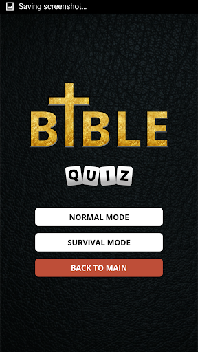 Bible Quiz screenshot