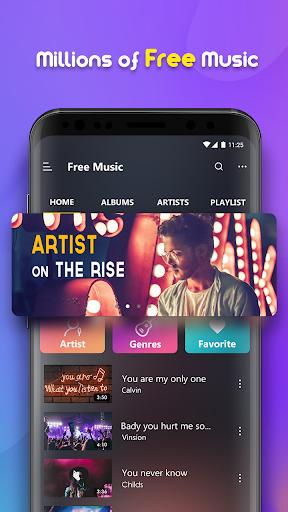 Free Music - Music Player, MP3 Player 10.2.4 Screenshots 2