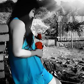 without you, I'm nothing :( by Made Weli Rtanaya (EBENK) - People Fashion