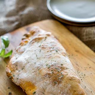 Ham and Cheese Breakfast Calzone.