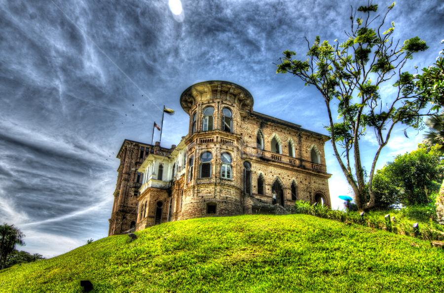 by Syazwan Shahril - Buildings & Architecture Public & Historical ( batu gajah, hdr, kellie's castle, malaysia, perak )
