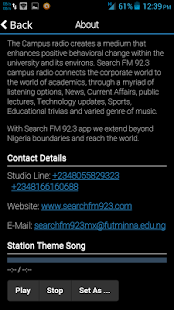 Search FM 92.3- screenshot thumbnail