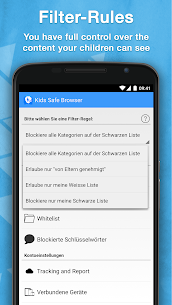 Safe Browser Parental Control App Download For Android and iPhone 4