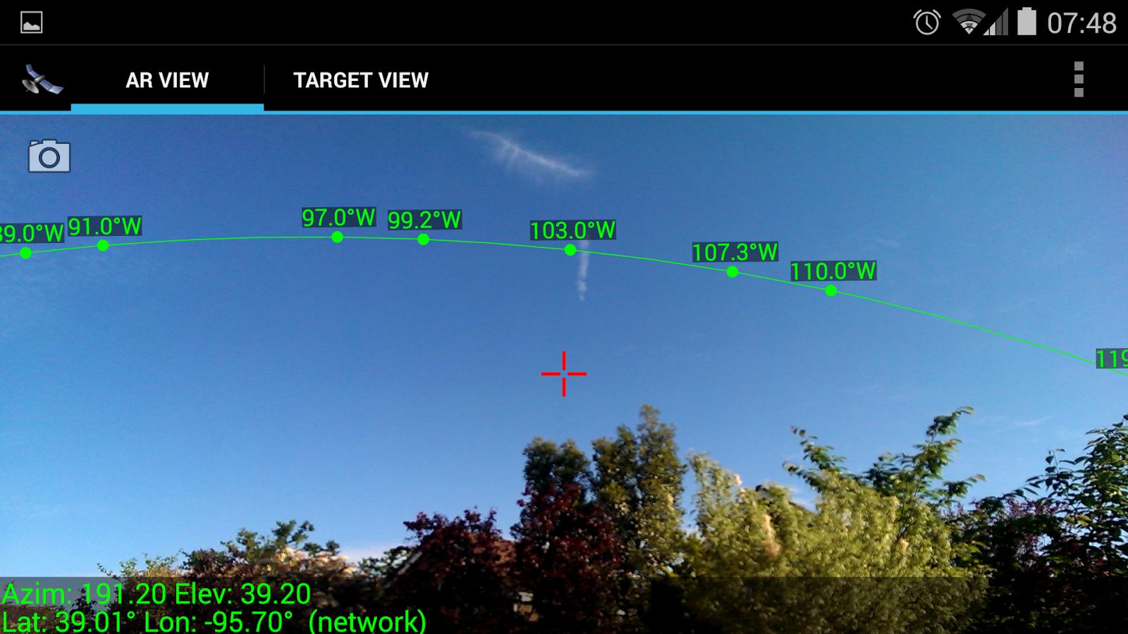 SatFinder - Find TV Satellites - screenshot