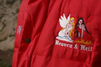 Photo: heaven & hell