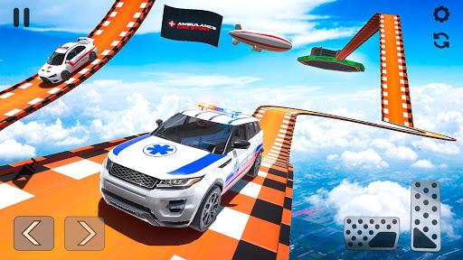 Ambulance Car Stunts: Mega Ramp Stunt Car Games 2.1 screenshots 5
