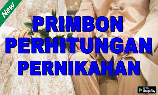 Primbon Perhitungan Pernikahan - náhled