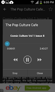 Pop Culture Cafe- screenshot thumbnail