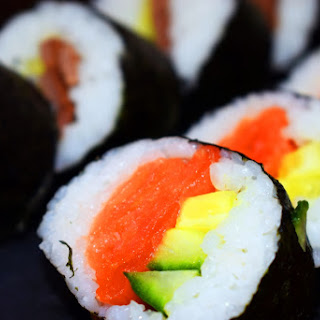 Homemade Syn Free Sushi.