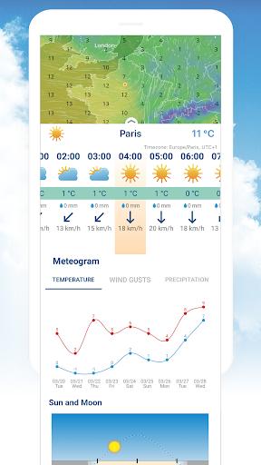 Ventusky: Weather Maps 7.1 screenshots 2