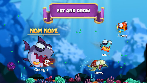 Eatme.io: Hungry fish fun game - screenshot