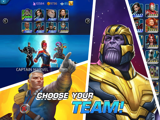 MARVEL Puzzle Quest: Join the Super Hero Battle! screenshots 10