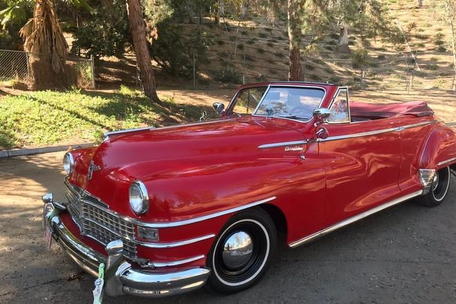 1948 Chrysler Windsor convertible Hire CA 92506