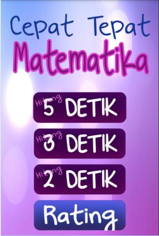 Скриншот Cepat Tepat Matematika