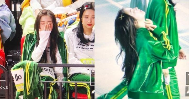 Red Velvet's Irene Caught Dozing off at Idol Star Athletics