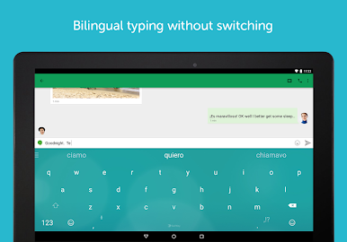 SwiftKey Keyboard + Emoji Screenshot 3