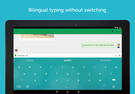 SwiftKey Keyboard + Emoji- screenshot thumbnail