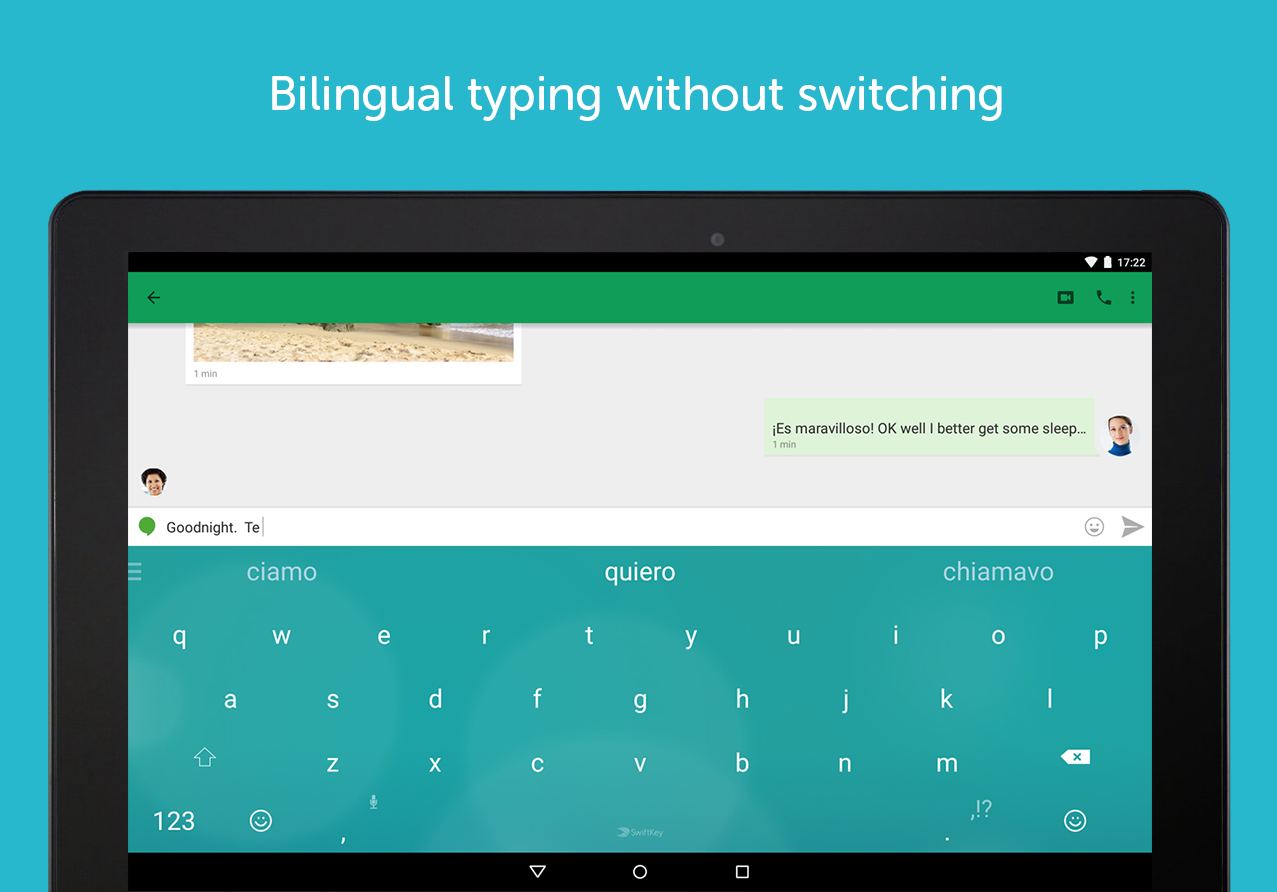 SwiftKey Keyboard + Emoji- screenshot