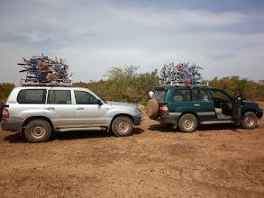Photo: lange moeilijke rit naar Nalou