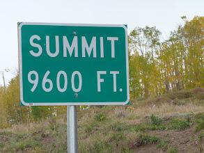 Photo: Le sommet de la 12,    alt.  2'926 m.
