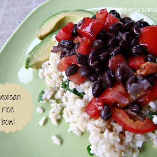 Mexican Rice Bowl.