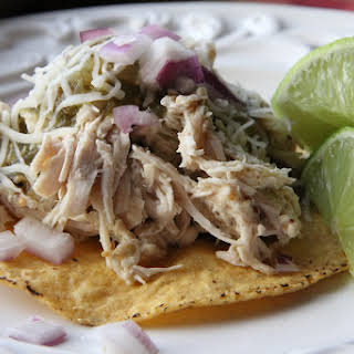 Honey Mustard & Lime Chicken Tostadas.