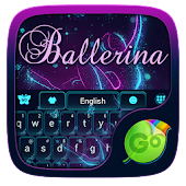 Ballerina GO Keyboard Theme