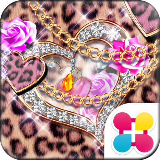 Leopard Hearts Wallpaper Theme Icon
