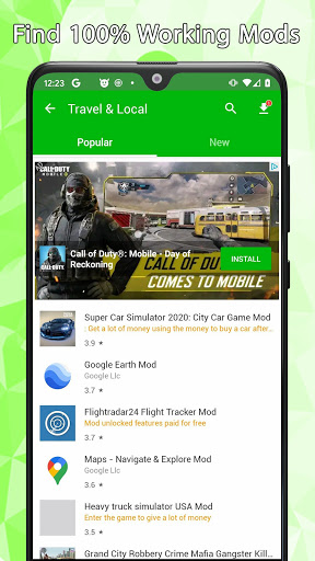 New HappyMod alternative App for All Mod and Apps cheat hacks