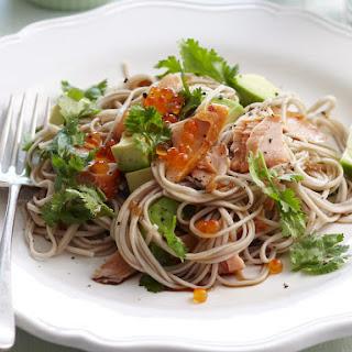Smoked Salmon Soba Noodles
